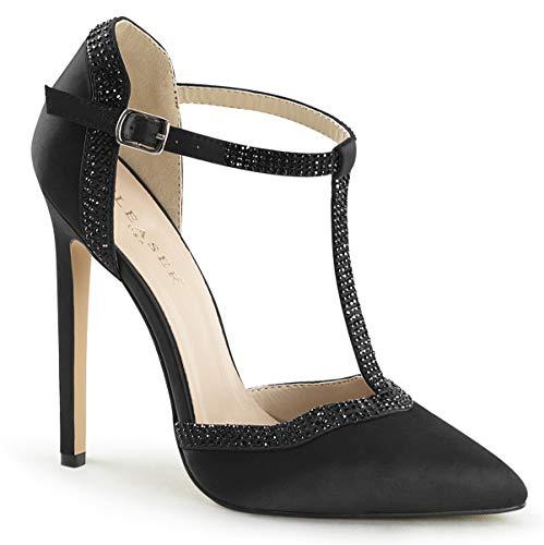 Pleaser Satin Heels - Pleaser Women's Sexy-25 D'Orsay Pump