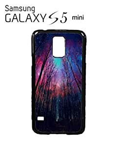 Galaxy Trees Nature Sky Mobile Cell Phone Case Samsung Galaxy S5 Mini Black by mcsharks