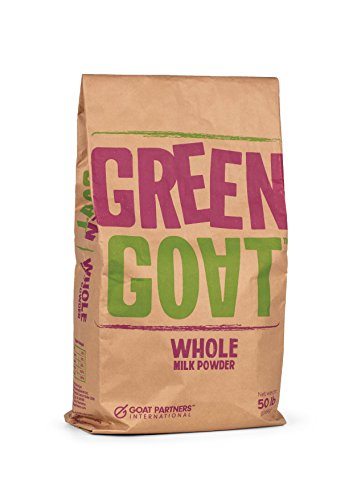 - Green Goat Whole Goat Milk Powder (Bulk) 50 lbs perfect for soap makers, breeders, and all pets: puppies, dogs, kittens, and cats
