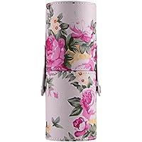 Tonsee Pu Leather Premium Makeup Brush Case, Portable Storage Makeup Bags Organizer...