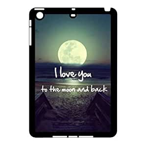 Brand New Case for iPad mini w/ I Love You to the Moon and Back image at Hmh-xase