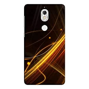Cover It Up - Golden Lines nokia 7 Hard Case