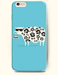 OFFIT iPhone 6 Plus Case 5.5 Inches Closed and Milk Cow by runtopwell