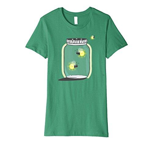 Womens Catching Fireflies in a Mason Jar Cute T-Shirt Sma...