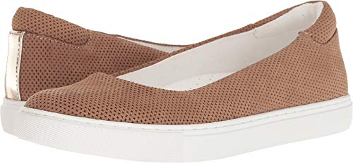 - Kenneth Cole New York Women's Kassie 2 Perf Skimmer Slip On Ballet Flat Sneaker, Almond, 7 M US