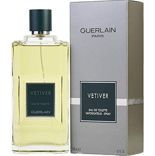 Guerlain Vetiver Eau De toilette Spray for Men, 6.8-Ounce 510263113237