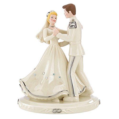 Lenox Disney Cinderella & Prince Love Cake Topper Figurine