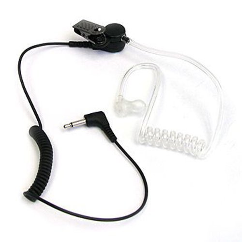 Maximal Power RHF 617-1N 3.5mm Surveillance Plug Receiver/Listen Only Audio Earpiece for 2-Way Radio Transceivers and Radio Speaker Mics, Outdoor Stuffs
