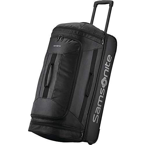 Samsonite 28 Inch Rolling Duffel, All Black, One Size