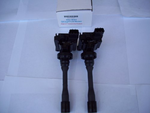 ignition-coil-pack-set-of-2-for-24l-mitsubishi-outlander-eclipse-galant-lancer-20l-mirage-18l-dodge-