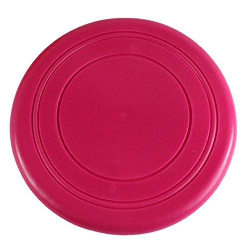 3 PCS Gullor Silicone Dog Chew Frisbee Flying Training Disc Indestructible Strong Pets Toy - Colors May Vary