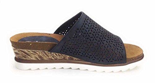 Hengst Footwear B.V. 227226 0 - Zuecos de Material Sintético para mujer negro