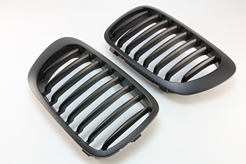 - Front Grille Grill Matt Black FOR 01-06 BMW E46 M3 & 99-03 Pre-Facelift E46 2D Coupe