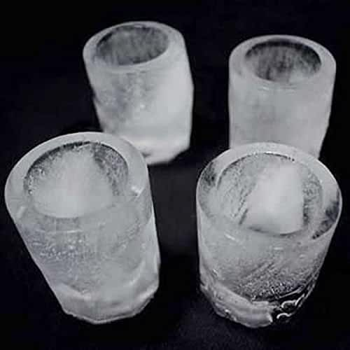 HDE Create Your Own Shot Glass Ice Cube Tray Mold Summer Drink Mixing Shooter