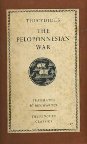 a review of the book the history of the peloponnesian war Yet, as someone who has just published a book on the causes of the  peloponnesian war — thucydides on the outbreak of war: character and.