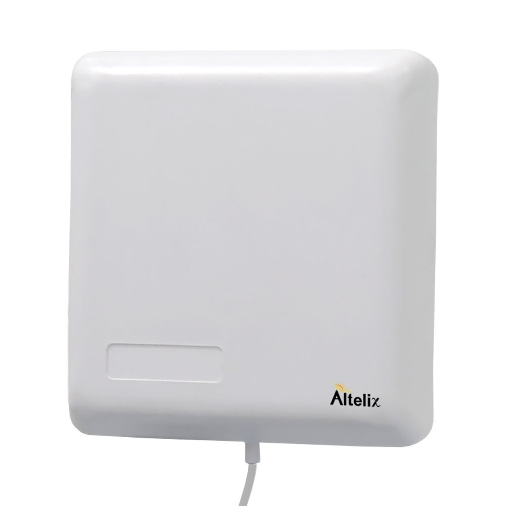 Altelix Wideband Wall Mount Panel Antenna 50 Ohm N Female 698-2700 MHz 2G 3G 4G LTE for 50 Ohm Cell Phone Boosters
