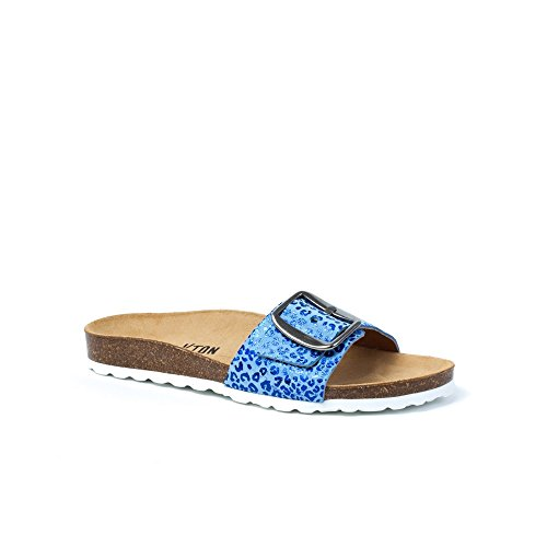 Plakton Plakton sandali Sabot Donna Sabot Blu sandali Donna qOT6xpSR