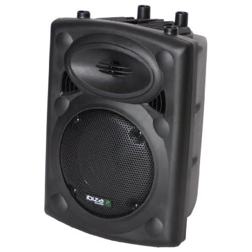 chollos oferta descuentos barato Ibiza Sound Light SLK8 Bafle pasivo Color Negro