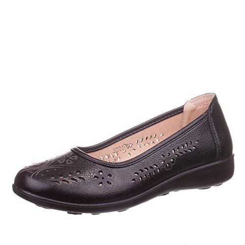 Ital-Design - zapatilla baja Mujer Negro - negro