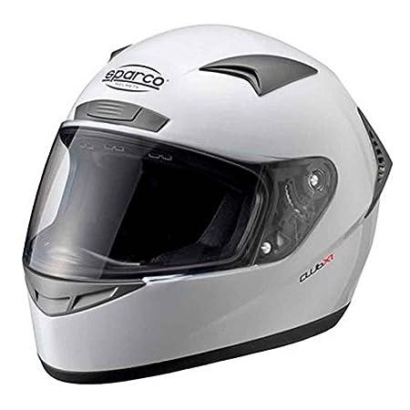 L Black SPARCO RACING S003319N3L Helmet Club X-1 TG L OM NR