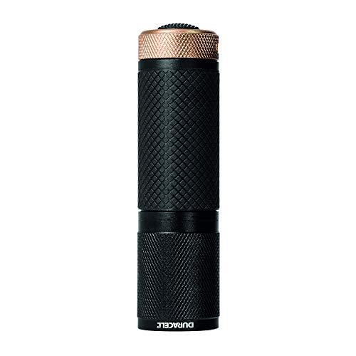 - Duracell Flashlight, Tough COMPACT Series Torch, Bright 65 Lumen LED Light, Black Aluminium Finish, Duracell Batteries Included (Pack of 1) (CMP-11)