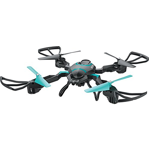 RONGT Model toys QZ S8 folding four-axis aircraft wifi real-time transmission high-definition aerial photography UAV (Black) - Photo Booth Cover