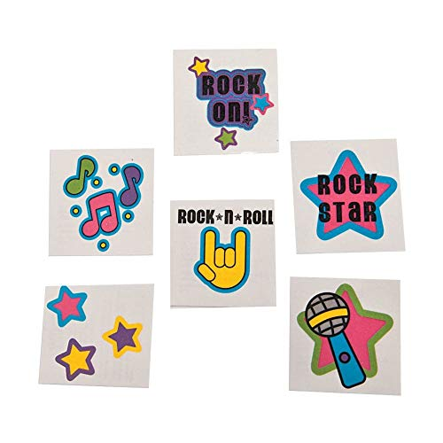 Rock Star Glitter Tattoos (72)]()