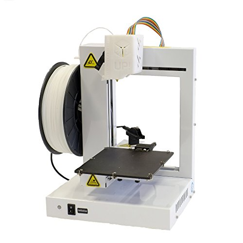 """UP! Plus 2 Fully Assembled 3D Printer, 5.3"""" x 5.5"""" x 5.5"""" Maximum Build Dimensions, 0.15-mm Maximum Resolution, 1.75-mm ABS, PLA, White Beijing TierTime Technology Co. Printers"""