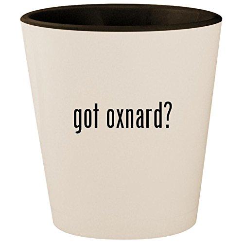 got oxnard? - White Outer & Black Inner Ceramic 1.5oz Shot Glass
