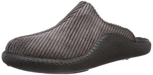 Romika Mokasso 220 Herren Pantoffeln, Braun (schwarz 100), 43