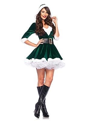 Leg Avenue Women's 2 Piece Mrs. Claus Costume