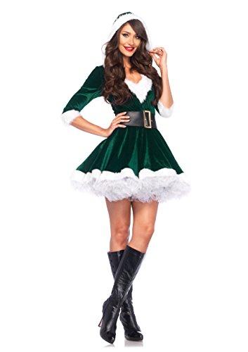 On Sale. Leg Avenue Womenu0027s 2 Piece ...  sc 1 st  Funtober & Leg Avenue Womenu0027s 2 Piece Mrs. Claus Costume - Funtober