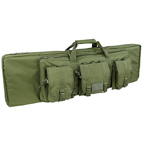Tactical Assault Rifle Case - Condor Double Rifle Case (Olive Drab, 36 x 13 x 4.5-Inch)