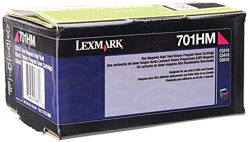 Lexmark 70C1HM0 CS310 CS410 CS510 Toner Cartridge (Magenta) in Retail Packaging