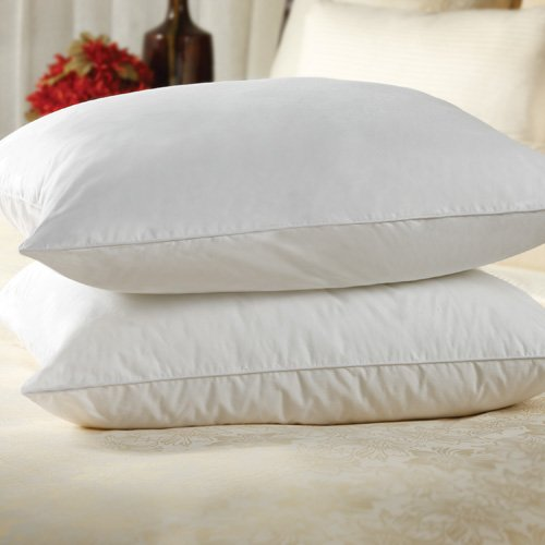 Sahara Nights Pillow: Best Pillow for Back and Stomach Sleepers - Hotel & Resort Quality Pillows - Gel Fiber Fill Cotton - Hypoallergenic Pillow (Queen Size Pillow).