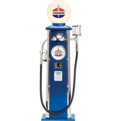 Morgan Cycle Standard Oil Gas Pump Lamp and Clock (Old Gas Pump compare prices)