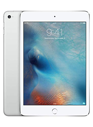 Apple iPad mini 4 (Wi-Fi, 128GB) - Silver (Previous Model)]()
