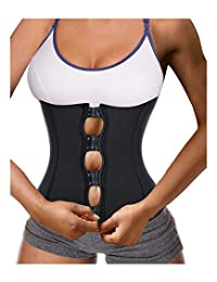Women Waist Trainer Corset Body Shaper for Weight Loss Tummy Control Slim to Hourglass