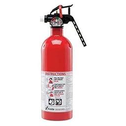 KIDDE 4104000 Fire Extinguisher, Dry Chemical, BC, 5B:C