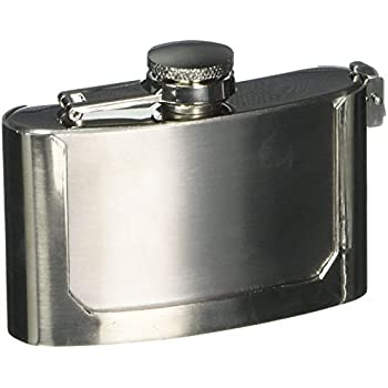Miscellaneous KTFLASKBKL3 Belt Buckle Flask