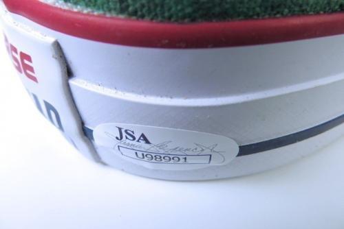 Larry Bird Signed Autographed Converse Custom Shoes Celtics Size 12 COA JSA Certified Autographed NBA Sneakers