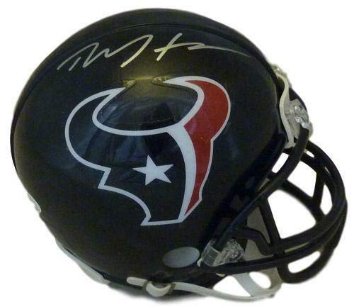 Deandre Hopkins Autographed Houston Texans mini helmet JSA