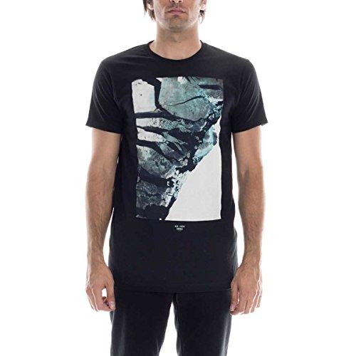 (Ezekiel Mens Beach House Slim Short-Sleeve Shirt Large Black)