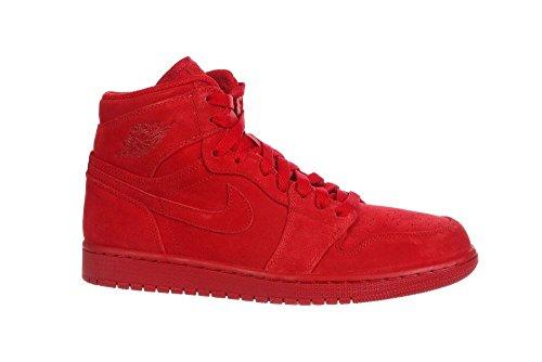 93fa1099 Nike Menns Air Jordan 1 Retro High Rød 332550-603 (størrelse: 8, ...