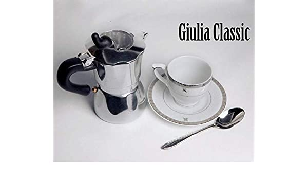 Julia classic-Cafetera de émbolo 3 tazas: Amazon.es: Hogar