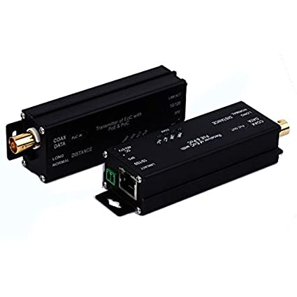 E-link micro-type 10/100Base-TX PoE) Ethernet sobre cable ...