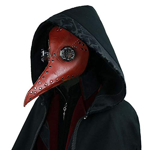 Plague Bird Doctor Nose Cosplay Mask Gothic Steampunk Retro Rock Halloween Mask]()