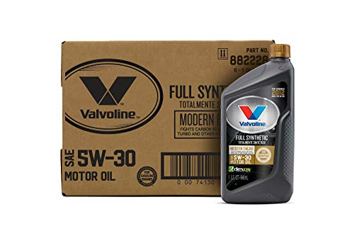 Valvoline 882228 Modern Engine SAE 5W-30 Synthetic Motor Oil 1 QT, Case of 6, 6 Pack
