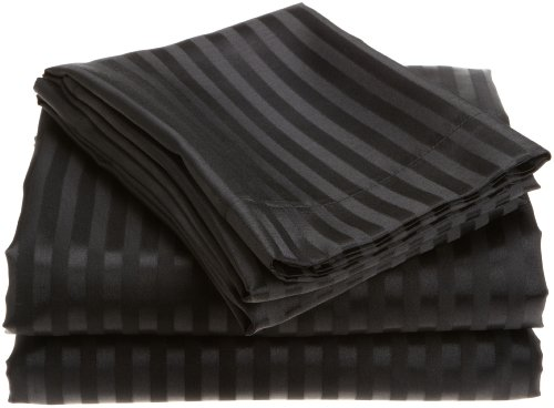 Divatex Home Fashion Satin Stripe Sheet Set