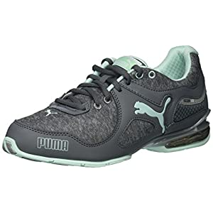 PUMA Women's Cell Riaze Wn Sneaker, Steel Grey/Bay, 7.5 M US